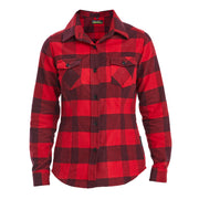 Checked Flannel Shirt Womens