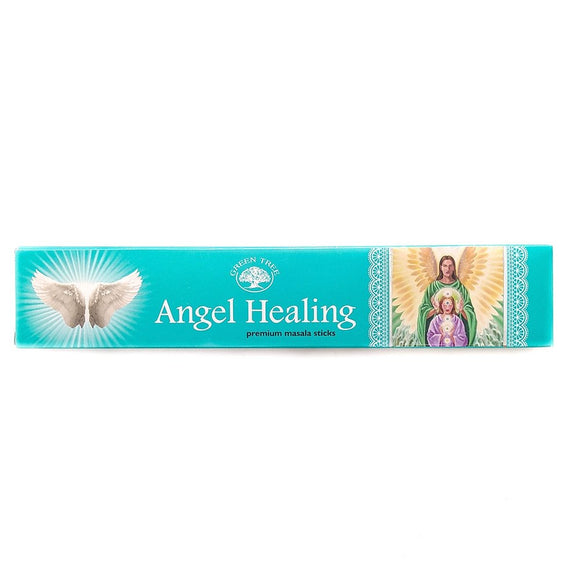 Incienso Angel Healing de Green Tree - Mystical Tienda Esotérica y de Minerales