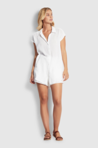 SEAFOLLY - Beach Edit Sleeveless Beach Shirt