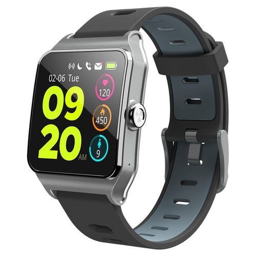 Smartwatch M23 - iPhone e Android (Strava, GPS, Pace, notificações, etc.)