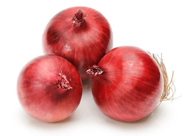 ONIONS - RED - 3 PIECES