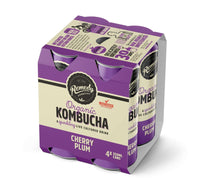 REMEDY ORGANIC KOMBUCHA - CHERRY PLUM - 4x250ML