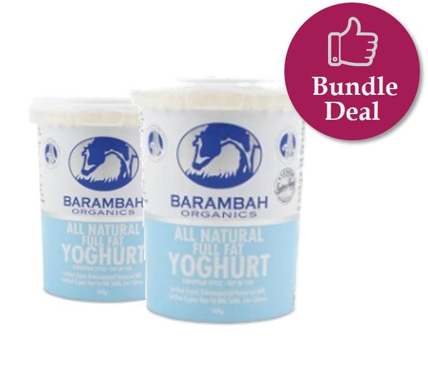 *PRE-ORDER* YOGHURT - ALL NATURAL - 500GMS X 6