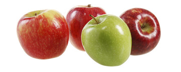 APPLES - MIXED - 12 PIECES - UNLOVED