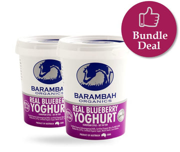 *PRE-ORDER* YOGHURT - REAL BLUEBERRY - 500GMS X 6