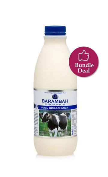 *PRE-ORDER* MILK - FULL CREAM - 1LTR X 6