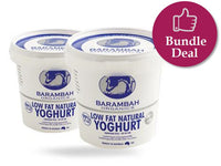 *PRE-ORDER* YOGHURT - LOW FAT NATURAL 99% FAT FREE - 500GMS X 6