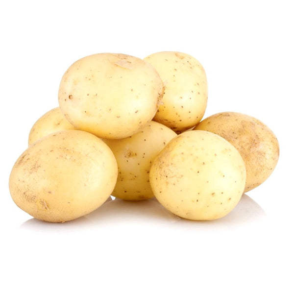 POTATOES - BABY - WHITE WASHED - PREPACKED - 500GMS