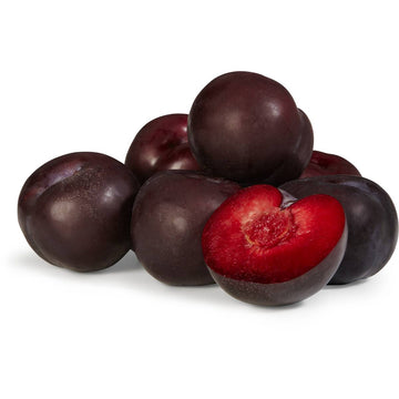 PLUM - BLACK - RED FLESH - 6 PIECES