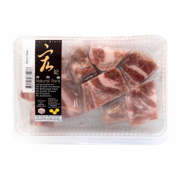 PORK - NATURAL PORK - SPARE RIBS - 250GMS - Singapore Deli and Grocer