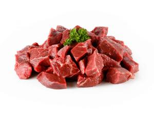 BEEF - DICED - GRASS FED - APPROX 400GMS*