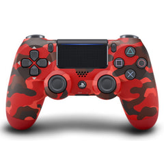 DUALSHOCK 4 Wireless Controller (Red Camouflage)