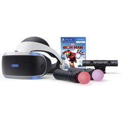 PlayStation VR Ironman Bundle with 2 Move Controller & Oasis Games VR Fun Pack Software