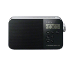 Portable Digital Clock Radio