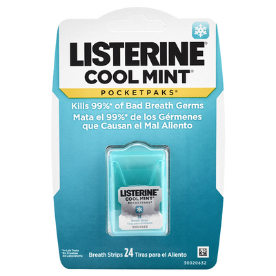 Listerine Pocket Strip