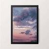 """Purple Skies"" Wall Decor"