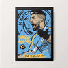 """Sergio Kun Aguero"" Wall Decor"