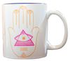 Boho Colorful Hamsa Coffee Mug - Slimjim Online