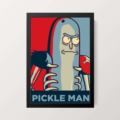 """Pickle Rick"" Wall Decor"