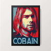 """Cobain"" Wall Decor"