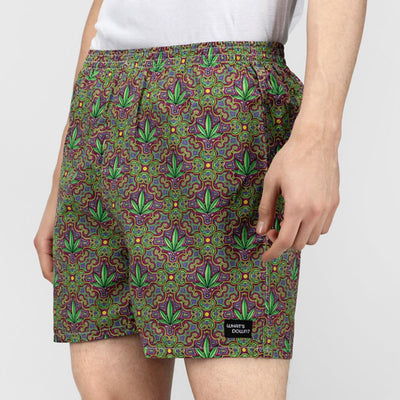 Green & Purple 420 Boxers