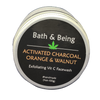 Activated Charcoal, Orange & Walnut Face Wash (100g)