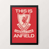 """This is Anfield"" Wall Decor"