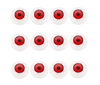 Halloween Eyeball - 12 pcs