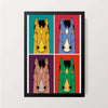 """Four Horseman"" Wall Decor"