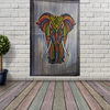 Handicrafts Cotton Wall Hanging Tapestry - Elephant