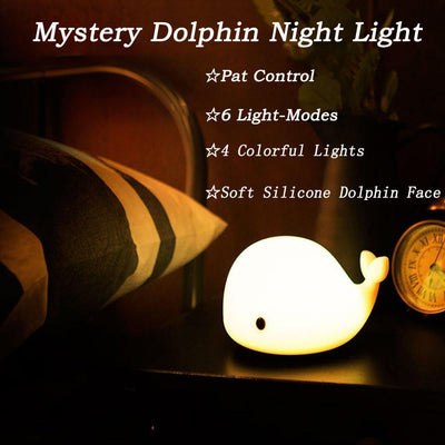 Dolphin Colour Changing Night Lamp