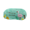 Flamingo Gel Eye Mask - Green