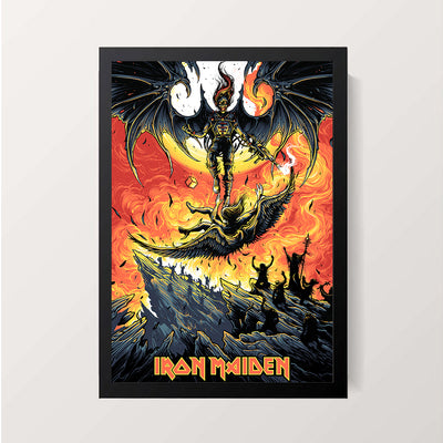 """Iron Maiden - Live After Death"" Wall Decor"
