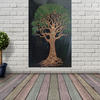 Handicrafts Cotton Wall Hanging Tapestry - Tree