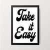 """Take it easy"" Wall Decor"