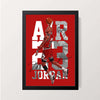 """AIR 23 Jordan"" Wall Decor"