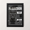 """McGregor - Career Stats"" Wall Decor"