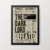 """The Daily Prophet"" Wall Decor"