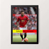"""David Beckham Manchester United"" Wall Decor"