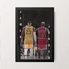 """James - Jordan"" Wall Decor"