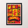 """GGMU"" Wall Decor"