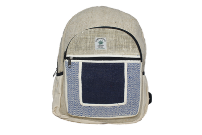 THC Hemp Blue Square Backpack