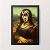 """Metal Lisa"" Wall Decor"