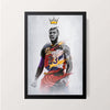 """LeBron Raymone James"" Wall Decor"