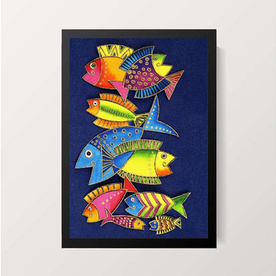 """Sea Patterns"" Wall Decor"