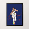 """Steph Curry"" Wall Decor"