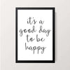 """It's A Good Day"" Wall Decor"