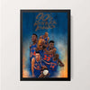 """90's Knicks"" Wall Decor"