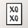 """XO XO"" Wall Decor"