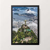 """Christ the Redeemer Statue"" Wall Decor"